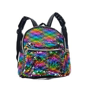 NEW! Multicolor Holographic Sequins Mini Backpack